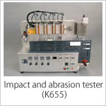 Impact and abrasion tester (K655)